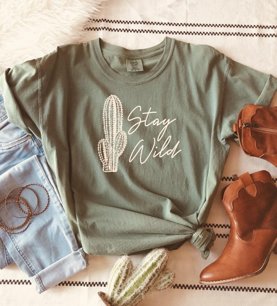 Stay Wild - Graphic Tee - RTS
