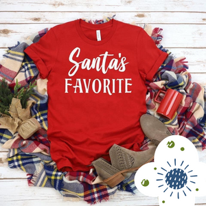 Santa's Favorite - Graphic Tee - RTS