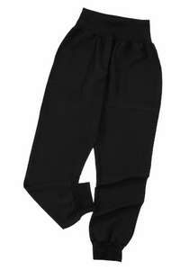 Black Jogger with Pockets - RTS
