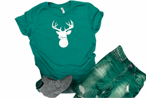 Distressed Deer - Graphic Tee - RTS