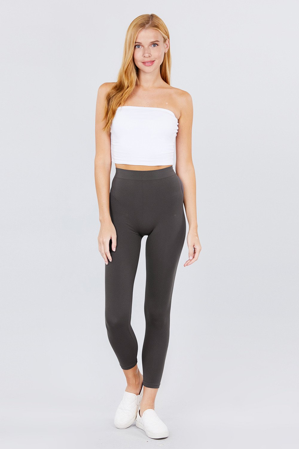 Charcoal Seamless Legging - RTS