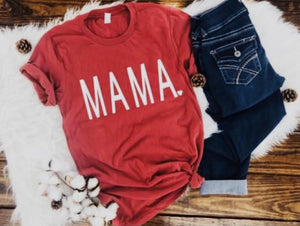 Mama With Heart - Graphic Tee - RTS