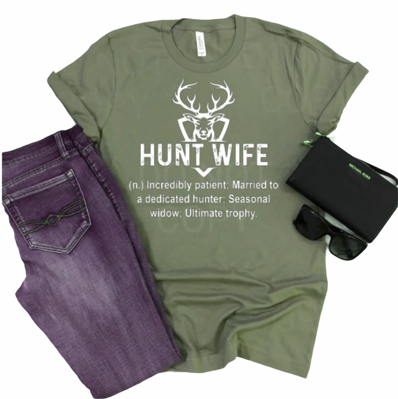 Hunt Wife - Graphic Tee - RTS