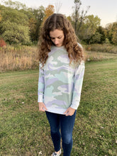 Load image into Gallery viewer, Camo Crew Neck - RTS