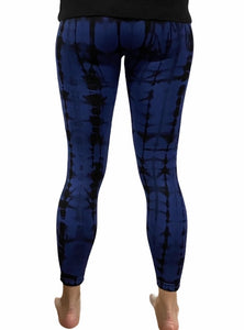 Blue Tie Dye Leggings - RTS