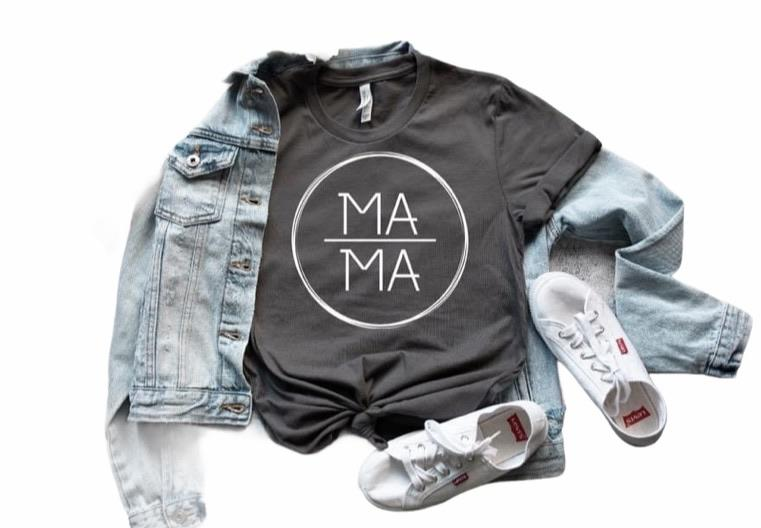 Mama in Circle - Graphic Tee - RTS