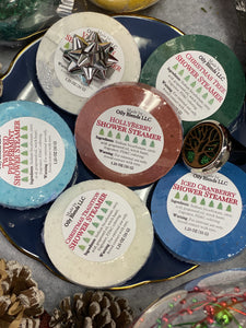 Christmas Shower Steamers