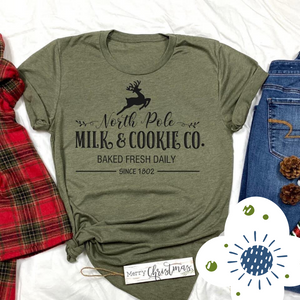 Milk & Cookies - Graphic Tee - RTS
