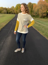 Load image into Gallery viewer, Mustard Sleeve Long Sleeve - RTS