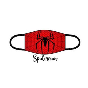 Superhero Facemask - Spider Man