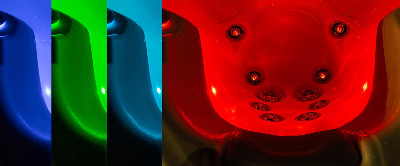 Buenospa exclusive color therapy lighting