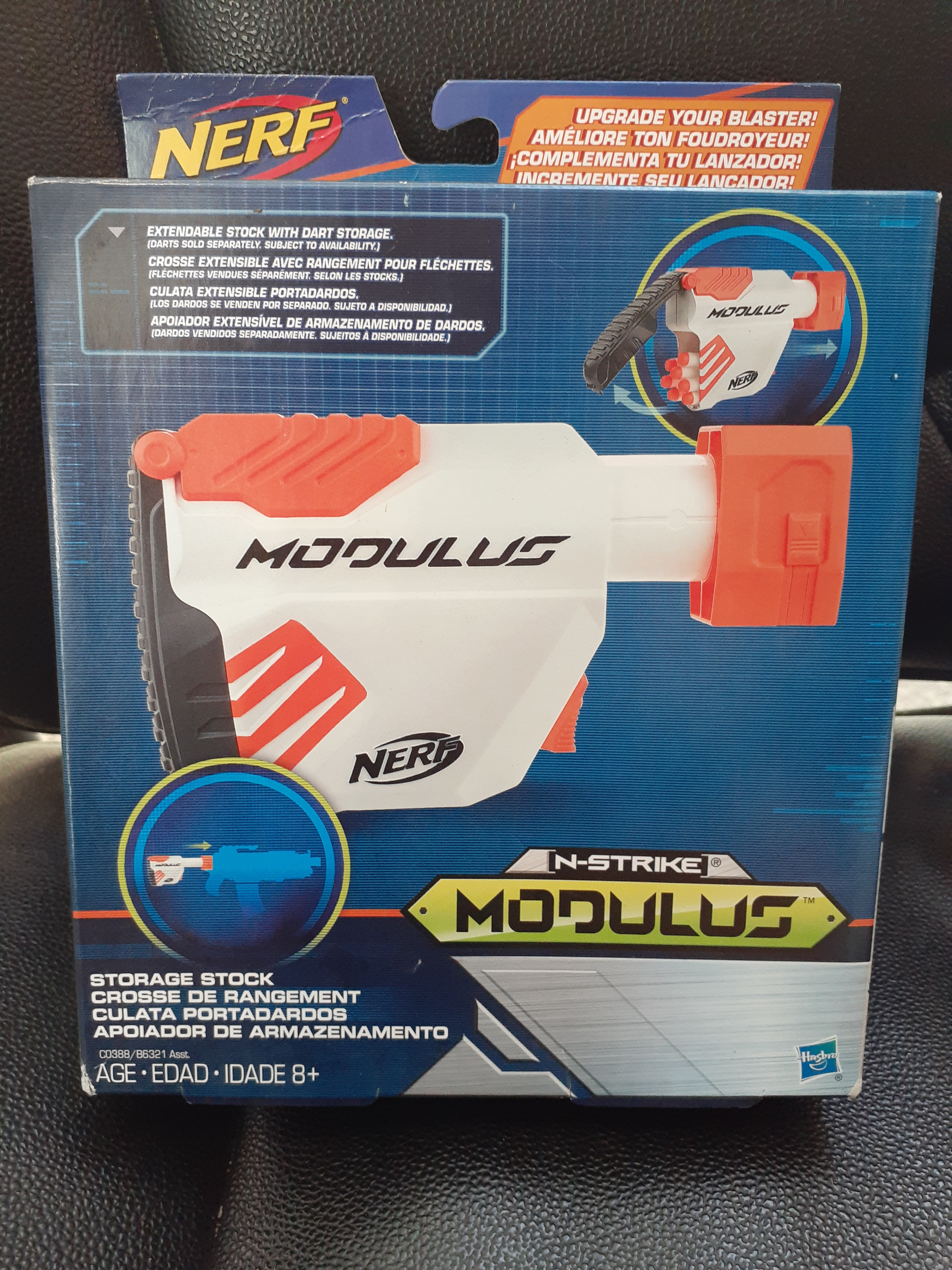 Nerf Modulus Dart Storage Stock Extendable Attachment New Pb J S Online Retail