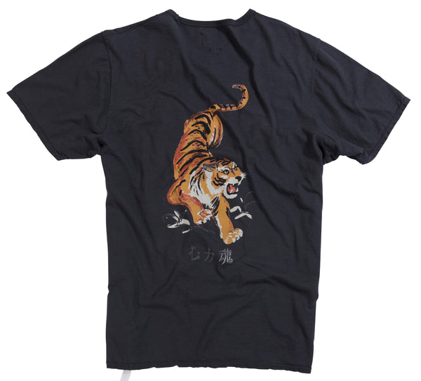 Bowery Tiger Tee - TMA318ND