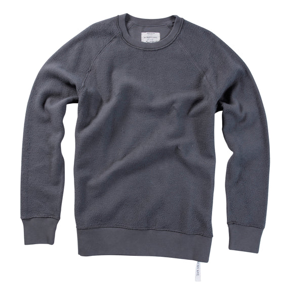 Bowery Essentials REVERSE Crewneck Sweat - FMB160