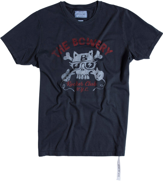 The Bowery Rockers Club Tee   TMA102