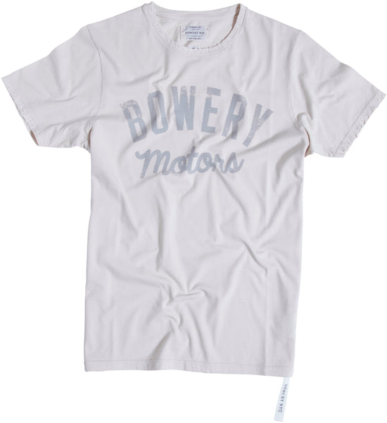 Bowery Motors Tee  TMA103 DESTROYED