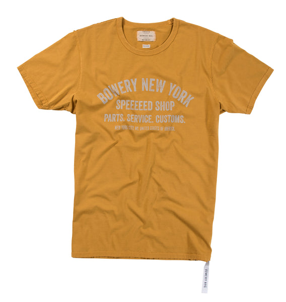 Bowery Speeeed Shop Tee - TMA105