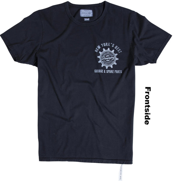 Bowery Black Eagle Garage Tee - TMA106