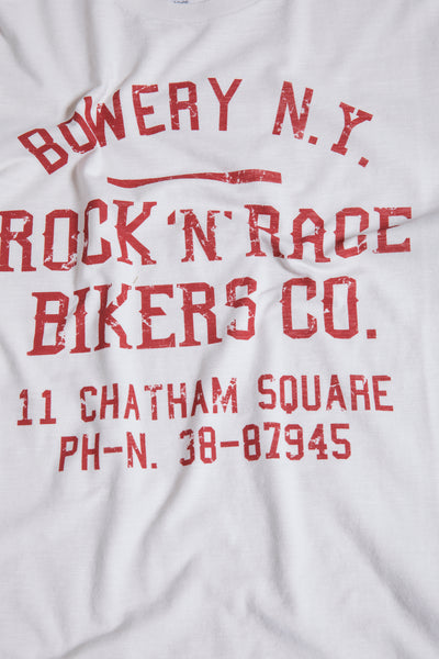 "Bowery Roundneck ""Bowery NY Rock'n'Race"" Tee - TMA112 - ND"