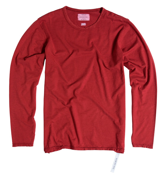 Bowery Essentials long sleeve Tee - TMB154 - DESTROYED