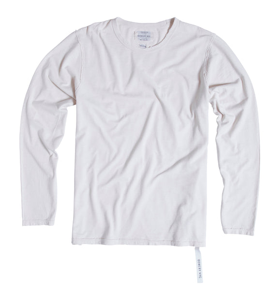 Bowery Essentials long sleeve Tee - TMB154 - DESTROYED - Bowery NYC