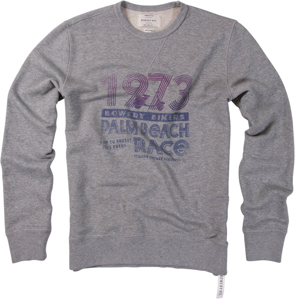 "Bowery ""1973 - Palmbeach Race"" Sweat - FMA335"