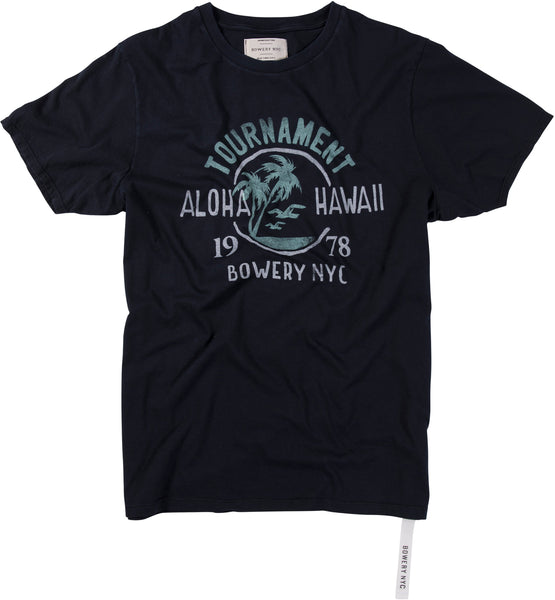 "Bowery ""Aloha Hawaii Tournament"" Tee - TMA207"