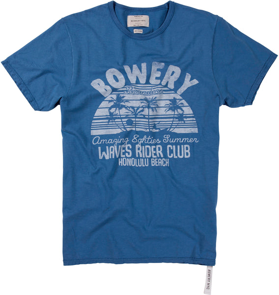 "Bowery ""Waves Rider Club"" Tee - TMA222"