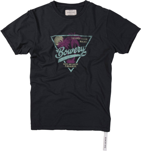 "Bowery ""Bikers and Surfers Paradise"" Tee - TMA225"