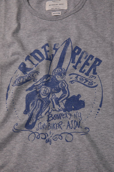 "Bowery ""Ride Surfer"" Tee - TMA226"