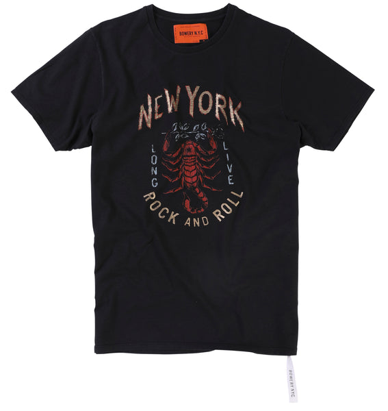 "Bowery ""New York Scorpion"" Tee - TMA306"