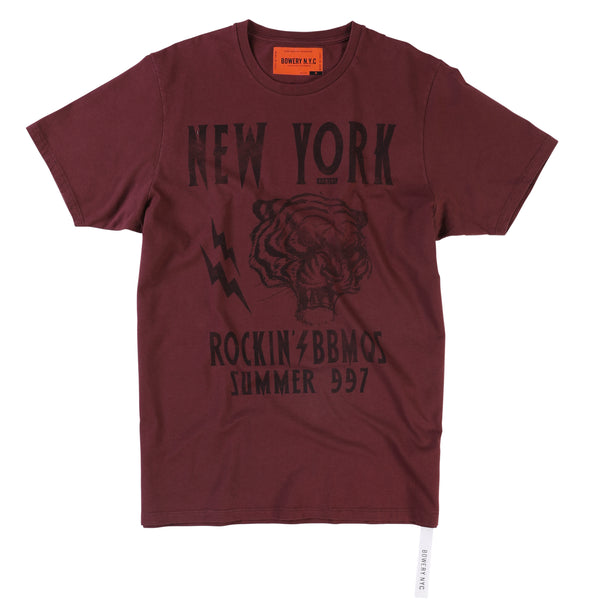 "Bowery ""Bowery New York Tiger"" Tee - TMA310"