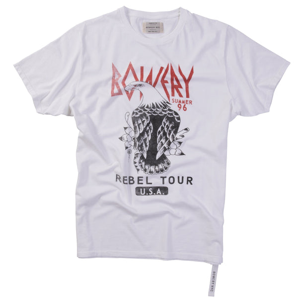 "Bowery ""Rebel Tour"" Tee - TMA404"
