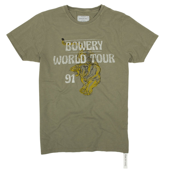 "Bowery ""World Tour 91"" Tee - TMA416"