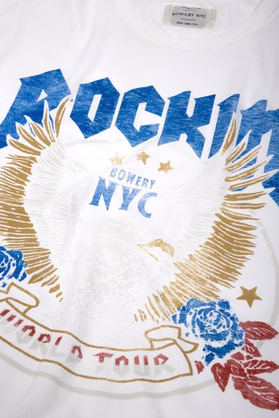 "Bowery ""Rocking Eagle"" Tee - TMA425"