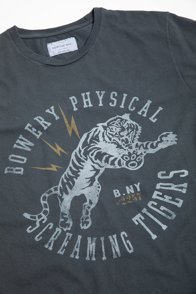 "Bowery ""Screaming Tigers"" Tee - TMA501"