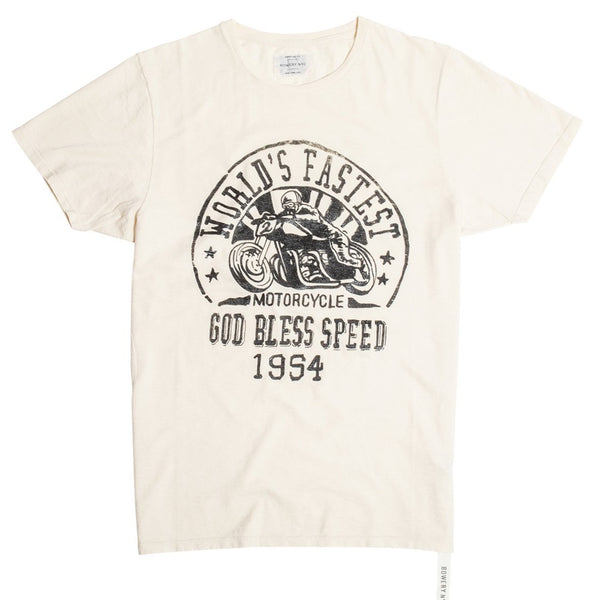"Bowery ""God Bless Speed"" Tee - TMA512"