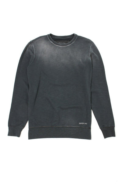 Essential Roundneck Sweat - FMB860 Used Vintage Black