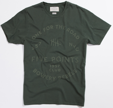 Bowery Five points Tee   -  TMA505