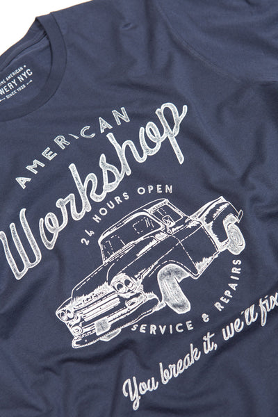 Bowery Nyc Workshop Tee - TMA139