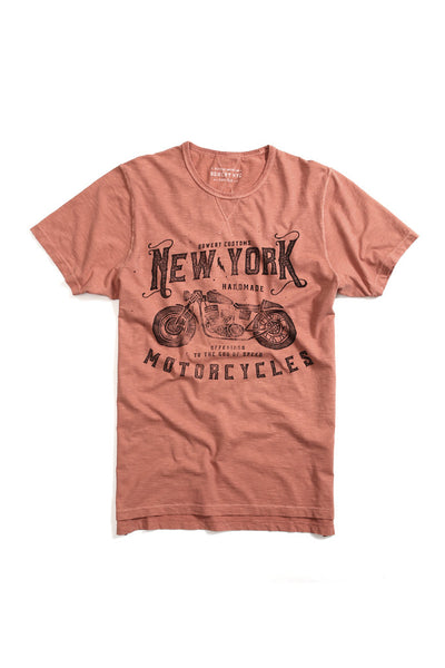 New York Motorcycles Tee - TMA303