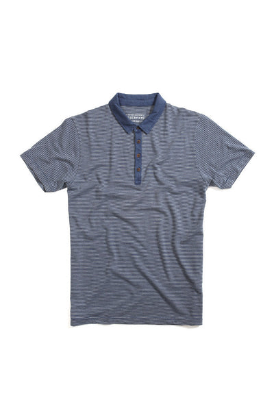 Bowery Striped Polo Shirt - TMB345