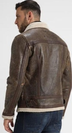 LEATHER JACKET - BE EDGY - BETRISTAN