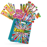 39pc Giant Zappomungus Kids Showbag w/Zappo Grape/Raspberry/Trolli Pizza/Gecko
