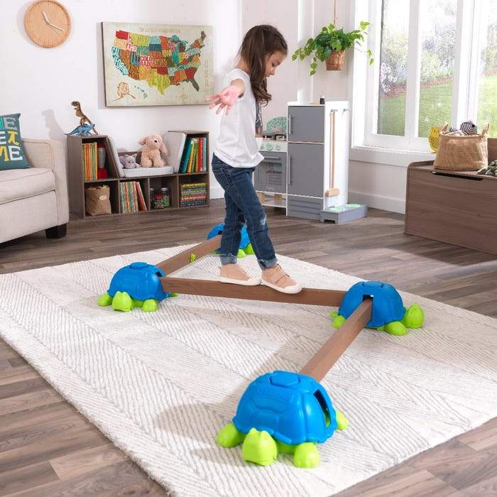 Turtle Totter Balance Beam