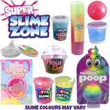 Super Slime Zone Kids Showbag w/Neon Slime/Putty/Glitter Ball/Crystal Putty