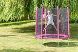 Plum® 6ft Junior Trampoline and Enclosure - Pink