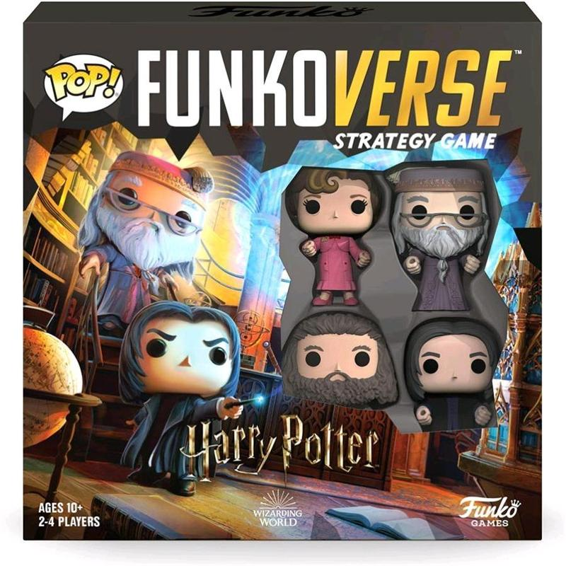 Funkoverse -  Harry Potter 102 4 -Pack Expandalone Strategy Board Game