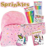 Sprinkles The Unicorn Showbag w/ Backpack/Pencil Case/Secret Diary Kids Girls PK