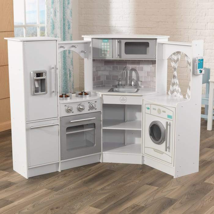 Ultimate Corner Play Kitchen - White